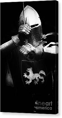 Knights Of Old 3 Canvas Print by Bob Christopher