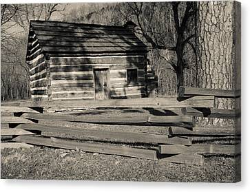 Knob Creek Cabin Canvas Print