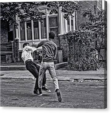 Knockdown Canvas Print by Ronald Watkins