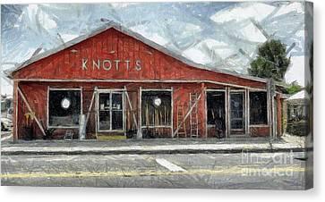 Knott's Hardware Canvas Print by Murphy Elliott