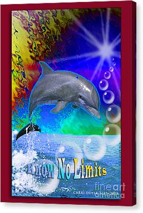 Know No Limits Canvas Print