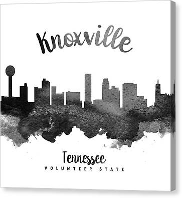 Knoxville Tennessee Skyline 18 Canvas Print
