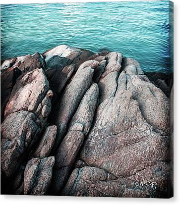 Ko Samet Rocks Canvas Print by Joseph Westrupp