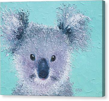 Koala Canvas Print by Jan Matson