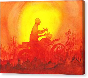 Koala Lumpur Sunset Canvas Print