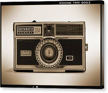 Kodak Instamatic Camera Canvas Print by Mike McGlothlen