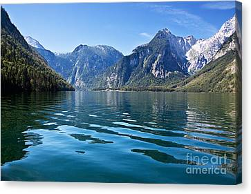 Koenigssee Canvas Print by Nailia Schwarz
