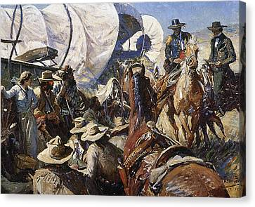 Koerner: Rights To Land Canvas Print