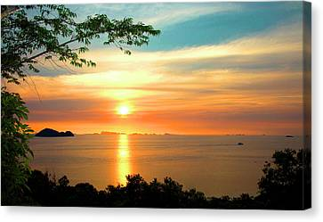 Koh Phangan Canvas Print by Mark Ashkenazi