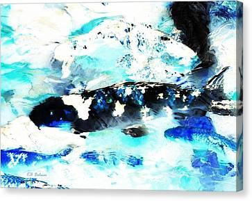 Koi Abstract 2 Canvas Print