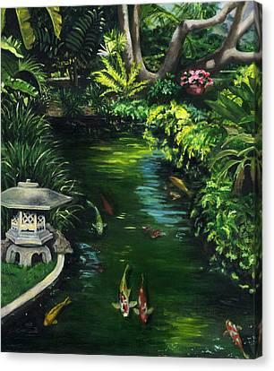 Koi Calm Canvas Print