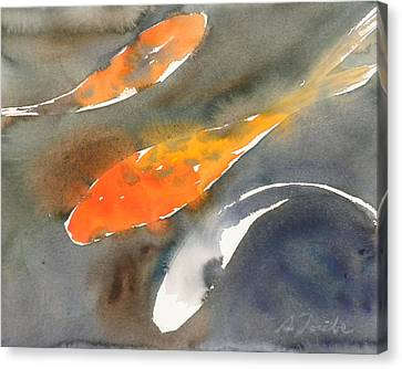 Koi Fish No.1 16x20 Canvas Print