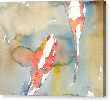 Koi Fish No.7 16x20 Canvas Print
