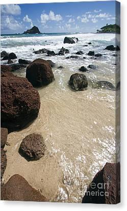 Koki Beach Hana Maui Hawaii 2 Canvas Print by Dustin K Ryan