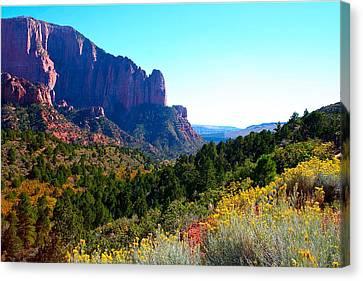 Kolob Canyon Canvas Print