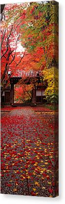 Komyoji Temple  Kyoto Japan Canvas Print by Panoramic Images