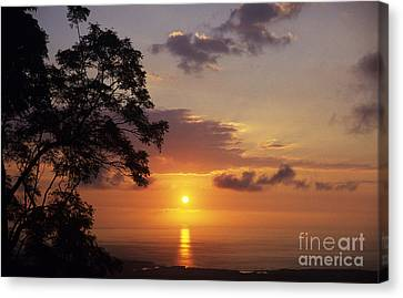 Kona Coast Sunset Canvas Print by Peter French - Printscapes