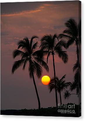 Kona Sunset #2 Canvas Print