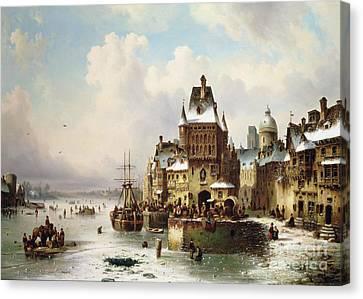 Konigsberg Canvas Print by Ludwig Hermann