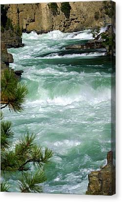 Kootenai River Canvas Print by Marty Koch