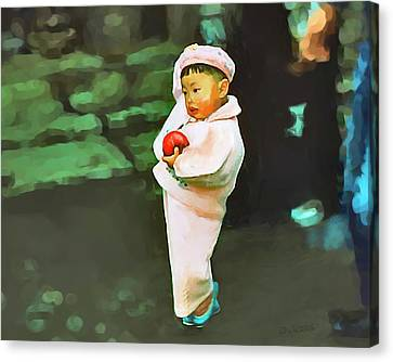 Canvas Print featuring the photograph Korean Pink by Dale Stillman