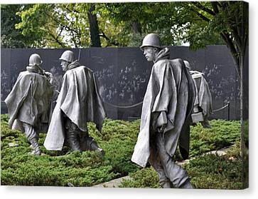 Korean War Memorial 3 Canvas Print