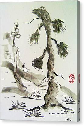 Korei-sha Matsunoki Canvas Print