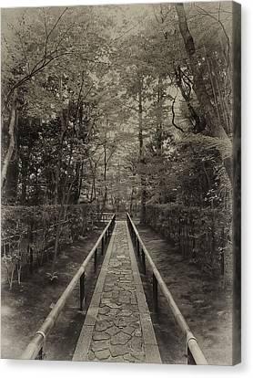 Koto-in Zen Temple Forest Path - Kyoto Japan Canvas Print by Daniel Hagerman