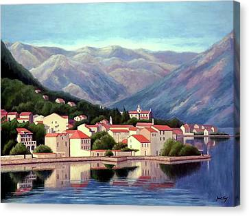 Canvas Print - Kotor Montenegro by Janet King