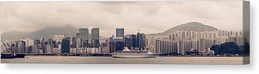 Kowloon City Canvas Print by Simon Li