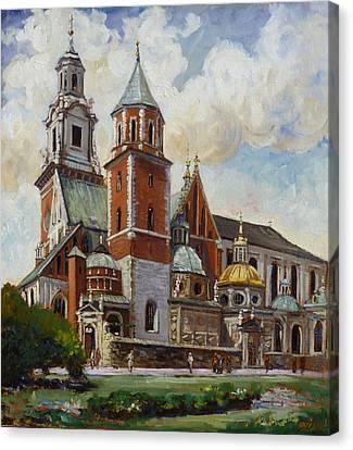 Krakow - Wawel Canvas Print