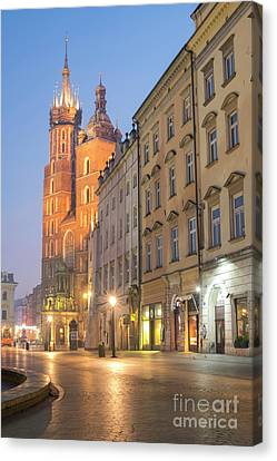 Canvas Print featuring the photograph Krakow by Juli Scalzi