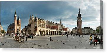 Krakow's Grand Square Canvas Print by Robert Lacy