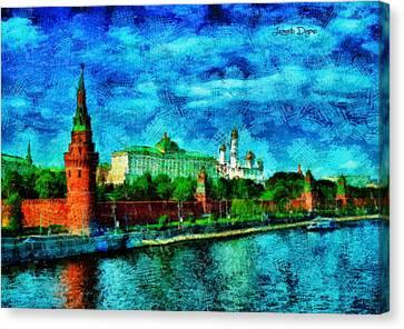 Kremlin - Pa Canvas Print by Leonardo Digenio