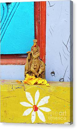 Krishna Blessings Canvas Print by Tim Gainey