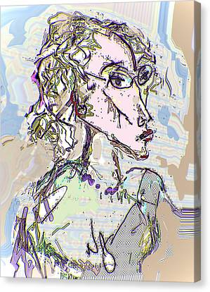 Kristine Canvas Print by Noredin Morgan