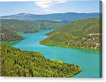 Krka River National Park View Canvas Print by Brch Photography