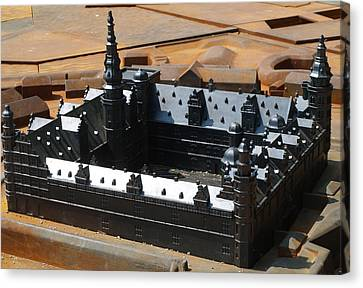 Canvas Print featuring the photograph Kronborg Slot by Michael Canning