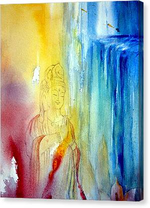 Kuan Yin Canvas Print by Wendy Wiese