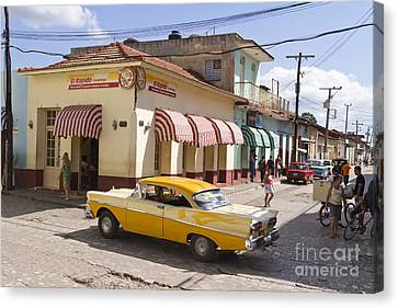 Kuba Trinidad Canvas Print by Juergen Held