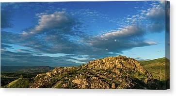 Kuipers' Peak In The Sun Canvas Print