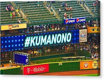 Kuma No No Canvas Print by Hugh Carino