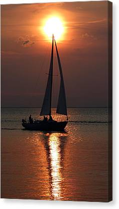Kumatage Sail Canvas Print