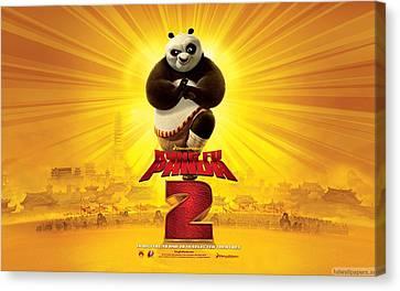 Kung Fu Panda 2 2011 Canvas Print