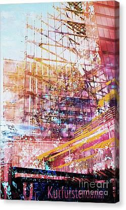 Kurfuerstendamm Canvas Print
