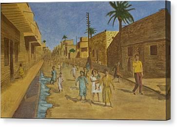 Kut Iraq Canvas Print by Julia Collard