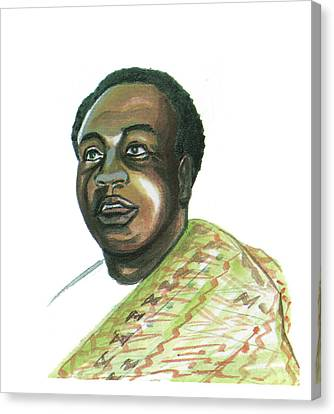 Kwame Nkrumah Canvas Print