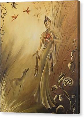 Kwan Yins Garden Canvas Print