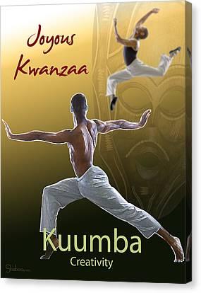 Kwanzaa Kuumba Canvas Print