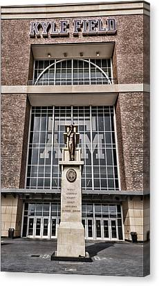 Kyle Field Canvas Print by Stephen Stookey